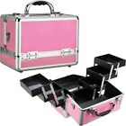 Sunrise Aluminum Makeup Train Cosmetic Jewelry Case Cosmetic Storage Box