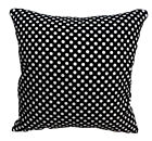 AL179a Off White Polka Dot Cotton Canvas Cushion Cover/Pillow Case *Custom Size*