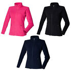 New SKINNI FIT Womens Ladies Fitted Micro Fleece Jacket in 3 Colours XS - XXL