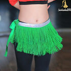 SALE NEW belly dance hip scarf  wrap 3 layers heavy fringe belt 10 colors choice