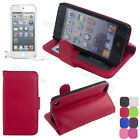 Flip Wallet Leather Case Stand Cover Pouch For iPod Touch 5 5G 5th + Free  Film