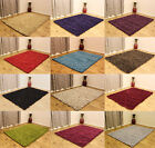 SMALL - EXTRA LARGE THICK CHUNKY HANDMADE SOFT LUXURIOUS DUMROO SHAGGY RUGS