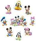 BABY MINNIE MICKEY MOUSE  STICKER WALL DECAL OR IRON ON TRANSFER T-SHIRT LOT MB