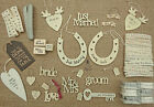 EAST OF INDIA WEDDING SIGNS WOODEN JUST MARRIED MR & MRS HAPPY EVER AFTER GIFT