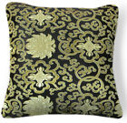 Bf022a Gold Aster Pattern Rayon Brocade Cushion Cover/Pillow Case*Custom Size