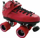 Red Sure Grip Rebel With Fugitive Wheels Speed Skates Size 3