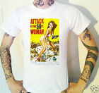ATTACK OF THE 50FT WOMAN T-Shirt 8 Sizes! Sci Fi Science Fiction Movie Fantasy