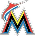 MLB Miami Florida Marlins  Decal/Sticker for Car Truck Cornhole boards Free Ship on Ebay