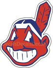 MLB Cleveland Indians Ohio Decal/Sticker for Car Truck Cornhole boards Free Ship