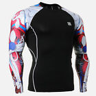 FIXGEAR CPD_B19R Skin Compression shirts Training Workout MMA Under Base layers