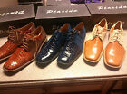New in box pair of Placido Men's dress shoes Style D62 Width E