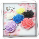 10pcs Resin Flower Carved Rose Flatback Cabochon Card-Scrapbooking Embellishment