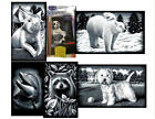 REEVES MINI SCRAPERFOIL: SPANIELS, DOLPHIN, LITTLE WESTIE, POLAR BEARS, PIGLET,