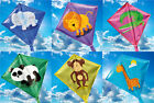CHILDRENS MINI DIAMOND ANIMAL KITE. 6 DESIGNS