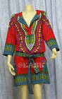 Dashiki Long Sleeve Mini Dress US12/UK14