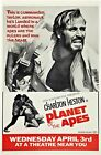 PLANET OF THE APES Movie Poster Rare Charlton Heston