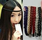 9 Color Braid Hair Bands Extension Cosplay Free Shipping YYP