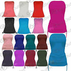 Womens Ruched Side Tie Bandeau Ladies BoobTube Vest Cropped Bra Top Size 8 12 14