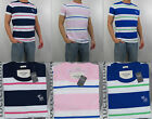 NWT Abercrombie & Fitch A&F New 2013 Men 's Muscle Fit Rollins Pond Tee T Shirt
