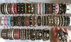 Metal Spike/ Studded Bracelet Wristband Faux Leather Rivet Goth Punk Rock Biker