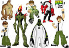 BEN 10 STICKER WALL DECAL OR IRON ON TRANSFER T-SHIRT FABRICS