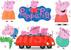 PEPPA PIG IRON ON T-SHIRT FABRIC TRANSFER OR STICKERS WALL DECO GEORGE LOT PG