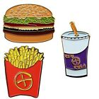 Fast Food Geocoins For Geocaching - Burger, Fries, Drink Available - Travel Bug