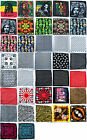 Bandana MIX DESIGN 100% COTTON Scarf Headgear Head Hair Band Wrist Wrap Neck Tie
