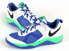 Nike Dual Fusion BB Low (GS) White/Black-Blue-Green Youth Basketball 580470-100