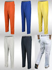 k tr1 mens summer solid stretch performance casual golf pleated pants trousers