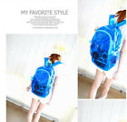 Women Fashion New Style candy color transparent beach backpack Bag