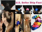 Pony Tail Color Dye Punk Rock Multi Hair Rubber Band Cuff Ponytail Holder Rope