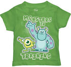Monsters Inc Monsters In Training Toddler Green T-Shirt