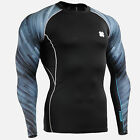 FIXGEAR CPD_B67 Skin Compression base layer shirt under training top MMA Fitness
