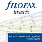 Filofax Pocket Organiser Accessories and Essentials