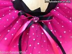 Neon Pink Tutu Skirt 80s Fancy Dress MINNIE MOUSE BABY PRINCESS DISCO ORGANZA