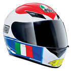 Motorrad AGV Helm K3 K-3 ROSSI'S HEART ROSSI ASIAN MONTAGE S,M,L,XL