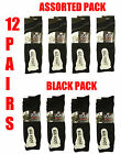 12 PAIRS MENS COMFORT BIG FOOT COTTON PLAIN LYCRA OFFICE WORK EVERYDAY SOCKS