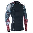FIXGEAR CPD_B73 Compression base layer skin-tight under training sport shirt MMA