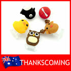 iPhone 5 iPad mini iPod Micro USB Anti-dust Home Button Cap 2in1 Duck Deer Owl