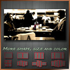 ' Heat Al Pacino & Robert De Niro ' Movie Wall Art Canvas Box ~ Ready to Hang
