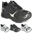 MENS LACE UP JOGGING GYM TRAINERS CASUAL SPORTS RUNNING LEISURE SHOES SZ 6-13