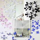 3D Flower Wall Stickers Art Decal Home Decoration 12PCs High Quality PVC Wedding