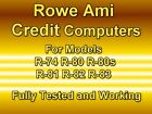 ROWE AMI JUKEBOX CREDIT COMPUTERS 601-07593 & 601-07674 FOR MODELS R-74 to R-83