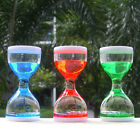 Colorful Oil Acrylic Hourglass Timer Ornament Decor Xmas Birthday Gift Craft