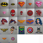 Superhero Iron On/ Sew On Cloth Patch Badge Appliqué cosplay comic TV movie film
