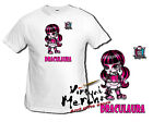 Camiseta MONSTER HIGH DRACULAURA tshirt t-shirt regalo niña chica stein friki
