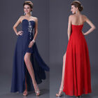 Designer Beaded Homecoming Party Evening Bridesmaid Long Dress TOP Cocktail Gown
