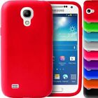 RUBBER SILICONE CASES WITH FREE SCREEN PROTECTOR FOR SAMSUNG GALAXY S4 i9500
