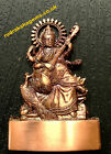 SARASWATI MAA MATA GODDESS OF KNOWLEDGE CARVED STATUE ASHTDHATU TEMPLE